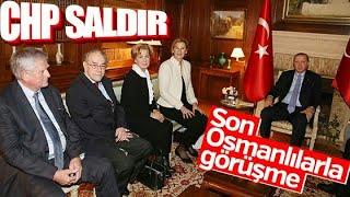 Erdoğan Fransa'da Osmanlı torunlarını ağırladı.
