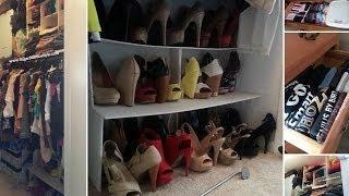 Closet Organization Under $15 + How I Fold - Sugarstilettosstyle