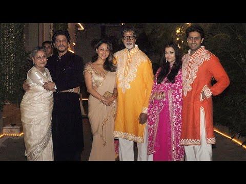 Download Amitabh Bachchan Diwali Party 2016 at Jalsa Full Video   Aishwarya, Abhishek, Sanjay and Many More