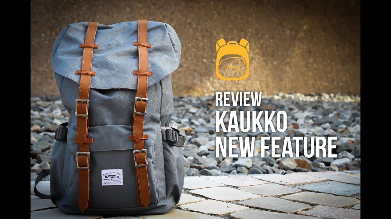 2d1ccaba8c1d Kaukko New Feature - Review auf Deutsch - Rucksack Test - YouTube
