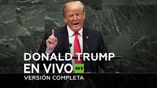 Discurso de Donald Trump en la 74a Asamblea General de la ONU 2019