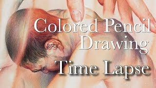 [Willeys Art] Colored Pencil Drawing Time Lapse
