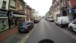 Chauny, France by Motorcycle