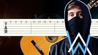Fade / Alan Walker / Guitarra Tutorial / Tablatura