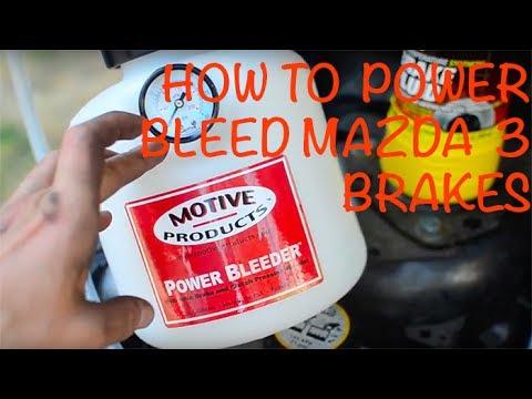 How to Bleed Brakes | Mazda 3 | Power Bleeder