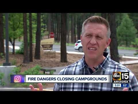 Fire dangers prompting some Arizona national forests to close