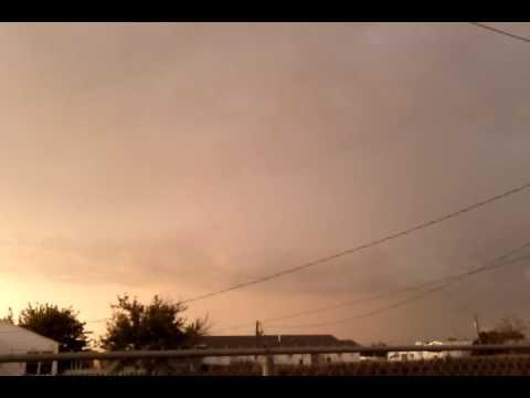 odessa lightening thunder storm rain weather bolts 1