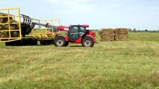 Petro operates various farm machinery on mixed type farm in Ukraine