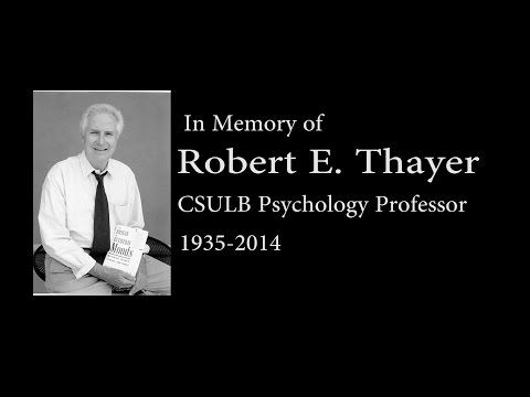 Robert E. Thayer Memorial with titles