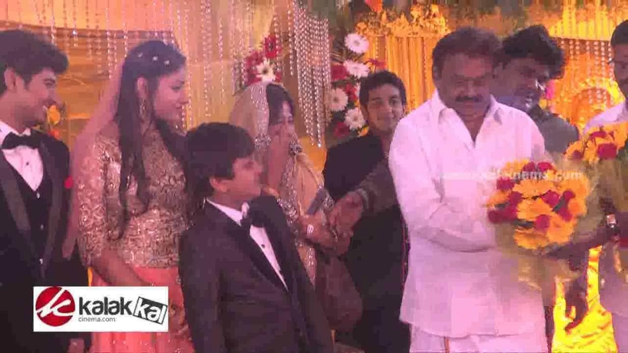 Mansoor Ali Khan Daughter Wedding Reception Photos - YouTube