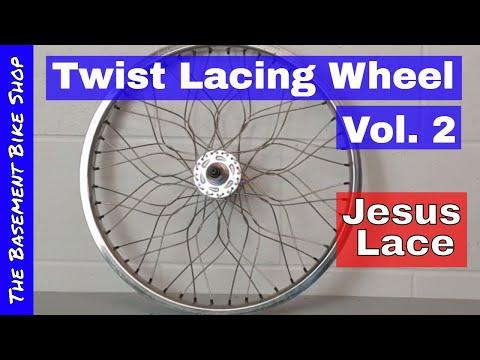 How To Twist Lace BMX Wheels Vol. 2- Jesus Lace