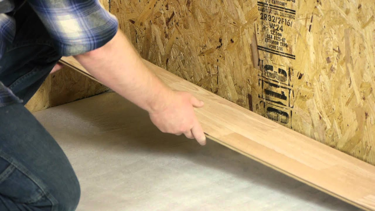Floating A Laminate Floor On Top Of Uneven Tile : Letu0027s Talk Flooring    YouTube
