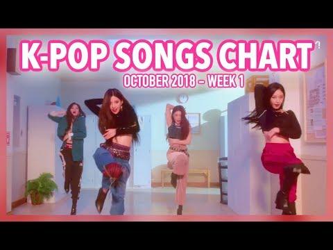 K-POP SONGS CHART | OCTOBER 2018 (WEEK 1)