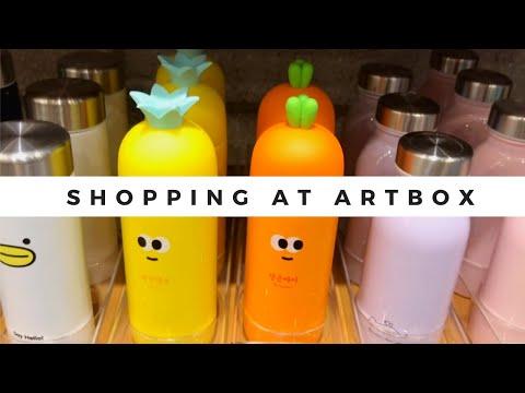 Shopping at Artbox Korea for Cute Kawaii Stuff!