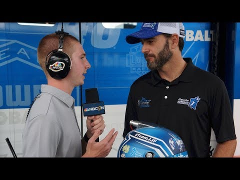 NASCAR on NBC Interview with Jimmie Johnson