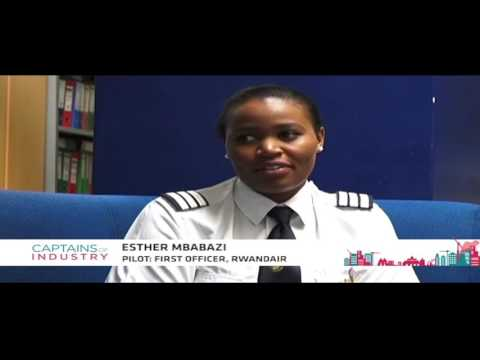 Rwanda's first female pilot speaks on conquering the skies