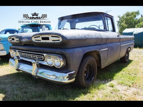 Custom Pickup 1961 Chevy C10 Longbed Fleetside V8