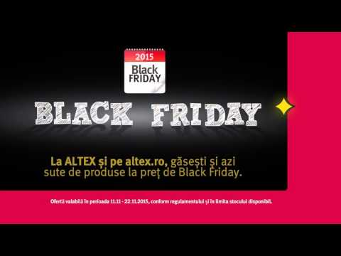 Reclama Altex Black Friday Tv Sony
