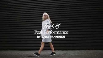 This is Peak Performance by Sara Vanninen