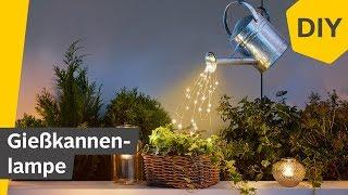 DIY: Gießkanne mit Lichterkette für Garten/Balkon selber basteln | Roombeez – powered by OTTO