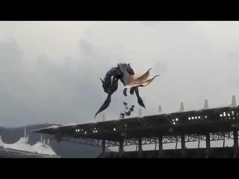 TV Pontual - (Curiosidades) Dragão Holográfico Voa No Estádio Na Coréia Do Sul