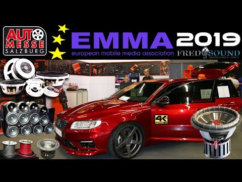 EMMA 2019 HIGH END CAR AUDIO SHOW SALZBURG EXCLUSIVE FULL REVIEW BY FRED & SOUND