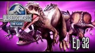 TODOS LOS HÍBRIDOS!!!!! // Jurassic World: El Juego #32 - En Español HD