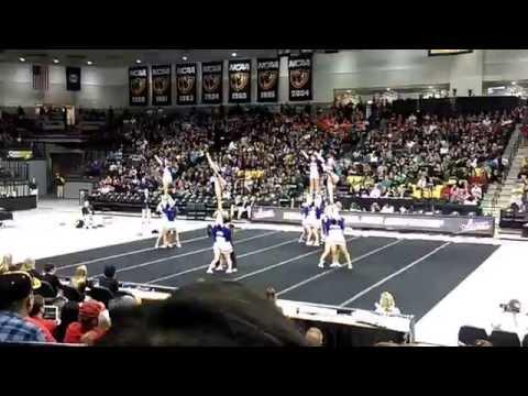 King George High School 4A VHSL Cheer States 2014