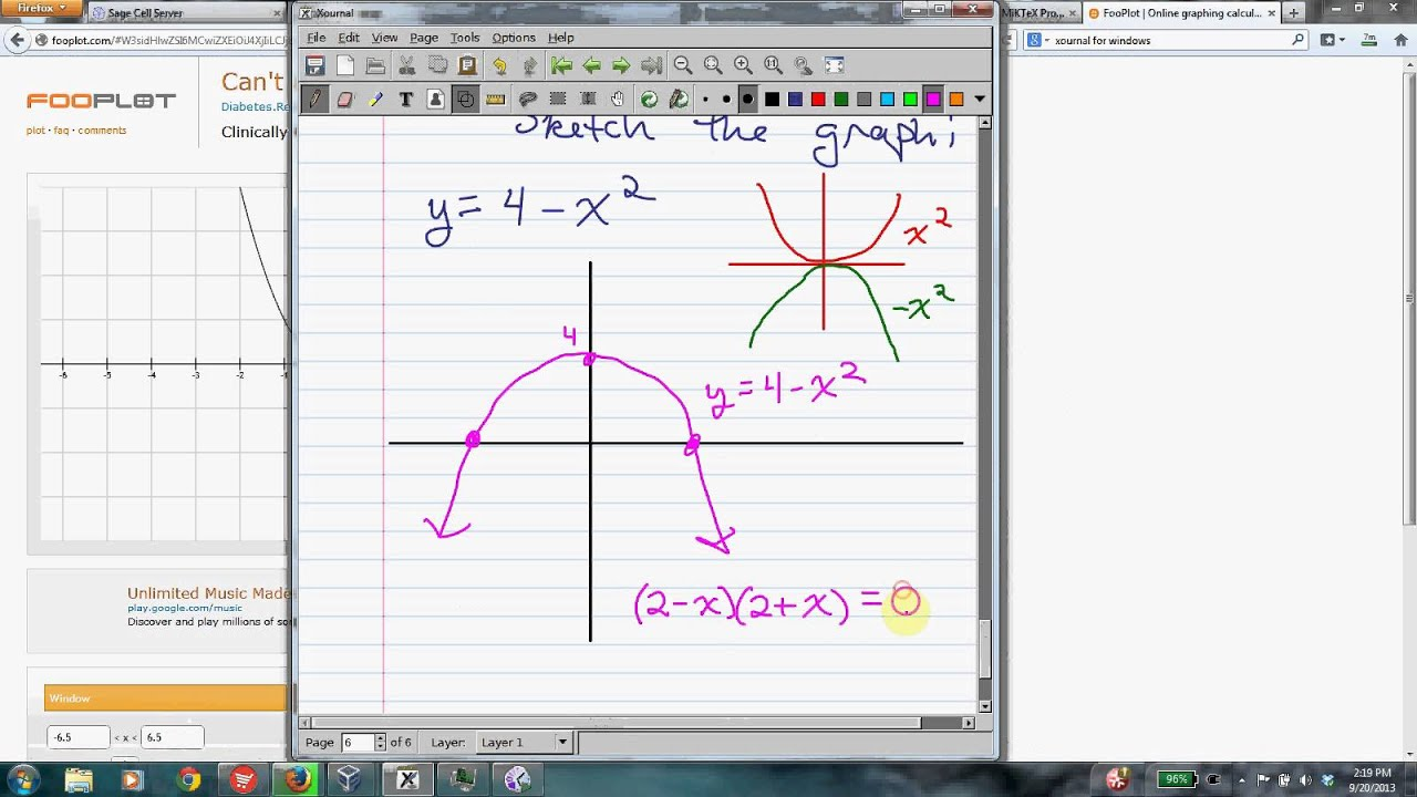 Graphing Review for Calculus