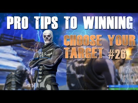 "FORTNITE HOW TO WIN TIPS #26 ""DECISIONS"""