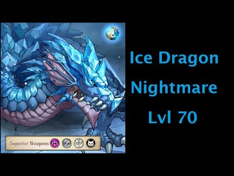 Langrisser Lvl 70 Ice Dragon (Nightmare)