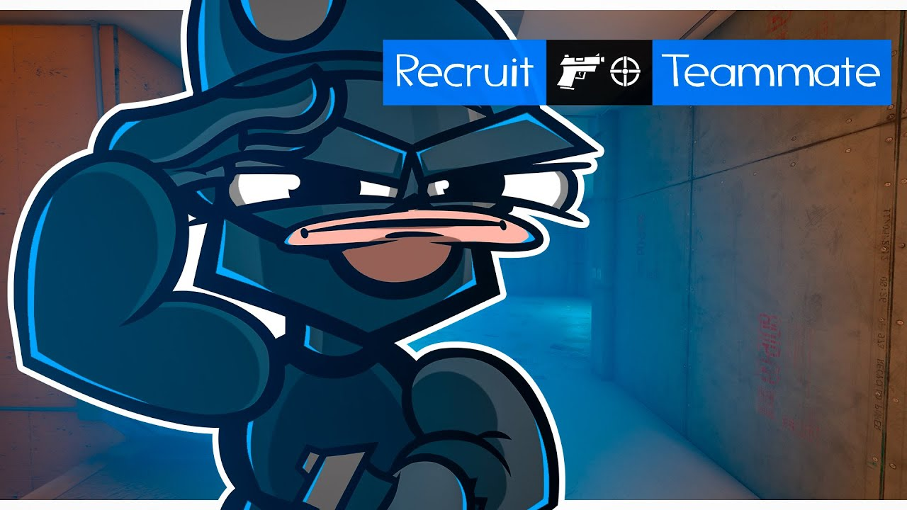 The True Recruit in Rainbow Six Siege (Animation)