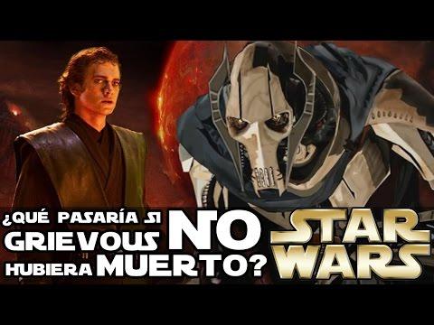 ¿Qué HUBIERA pasado si GRIEVOUS NO hubiera MUERTO? - Star Wars Explicado