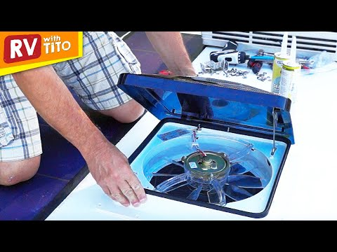 How To Install A Fan-Tastic Vent (Fantastic Vent / Fan) - YouTube