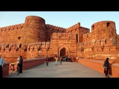 Agra Fort by Tour Guide (Hindi)