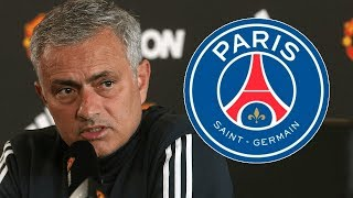 """Jose Mourinho could become the PSG manager at some point"""