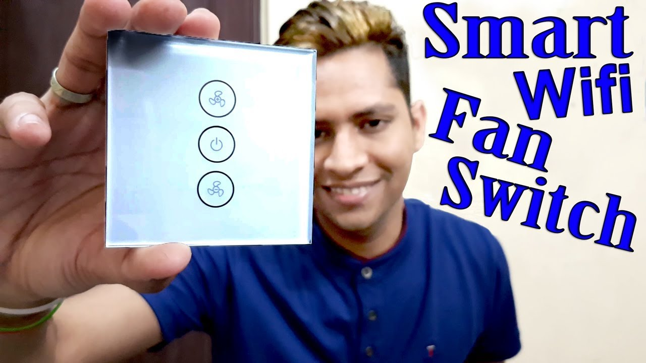 Alexa enabled devices   Smart Fan control switch Unboxing Review  installation setup Test