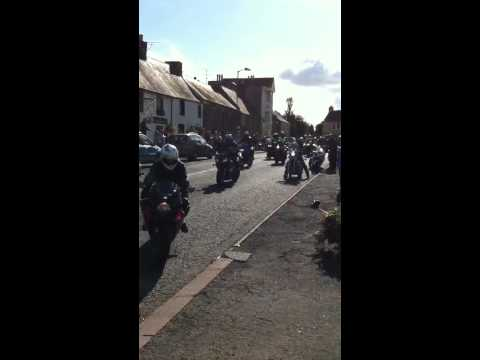 Steve Hislop memorial run 2011