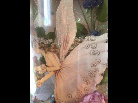 Fairy in a jar tutorial