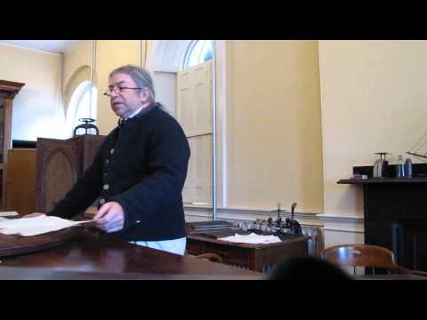 Custom House Clerk at Salem Maritime NHS