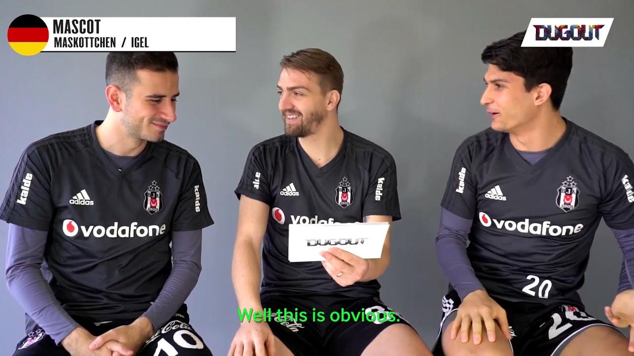 Beşiktaşlı Futbolcular'ın Almanca ile İmtihanı