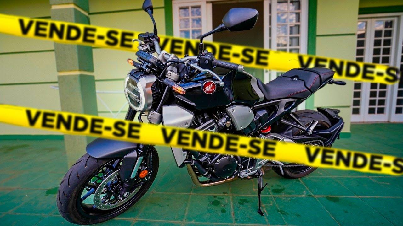 COLOQUEI A NOVA CB1000 A VENDA