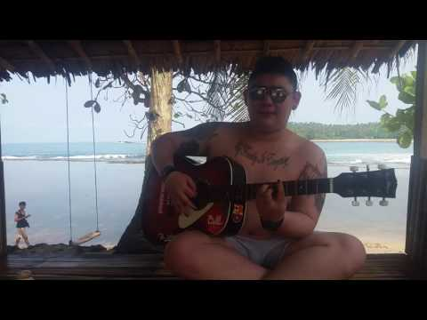 imanez - anak pantai (cover by @rakagitu at sawarna beach)
