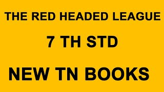 THE RED HEADED LEAGUE - TN BOOKS 2019