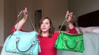 how to double the shoulder strap on your florentine satchel