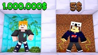 500.000€ HAUS VS. 10€ HAUS IN MINECRAFT