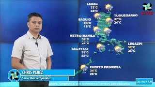 Public Weather Forecast Issued at 4:00 AM May 02, 2018