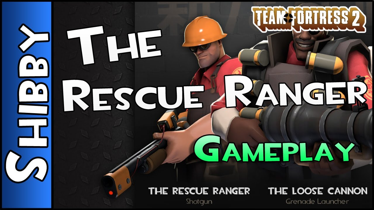 TF2 - The Rescue Ranger - New Engineer Weapon Gameplay (Team Fortress 2)