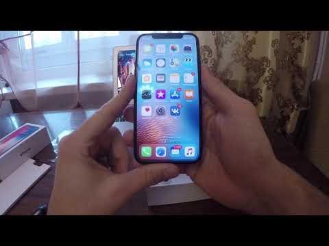 IPhone X 64 Space Gray видеообзор Как проверить на оригинальность