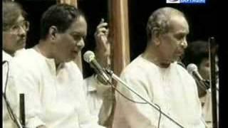 Pt Bhimsen Joshi & Dr Balamurali Krishna - Bhairavi